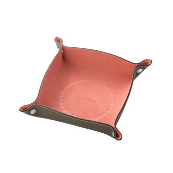 Suede Jewelry Tray - Conch Pink
