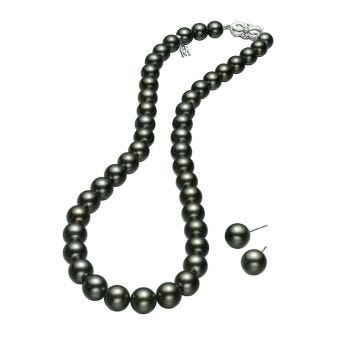 Black South Sea Special Edition - Strand and Stud Earring Set
