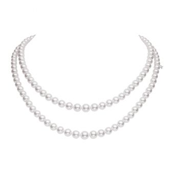 Everyday Essentials Double Strand Akoya Necklace