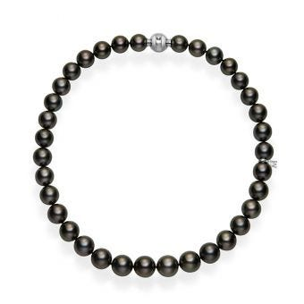 Black South Sea Cultured Pearl Necklace 16 Inch