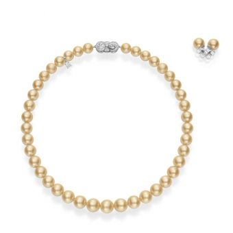 Ginza Special Edition Gold South Sea Cultured Pearl Set