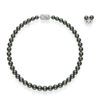 Ginza Special Edition Black South Sea Cultured Pearl Set
