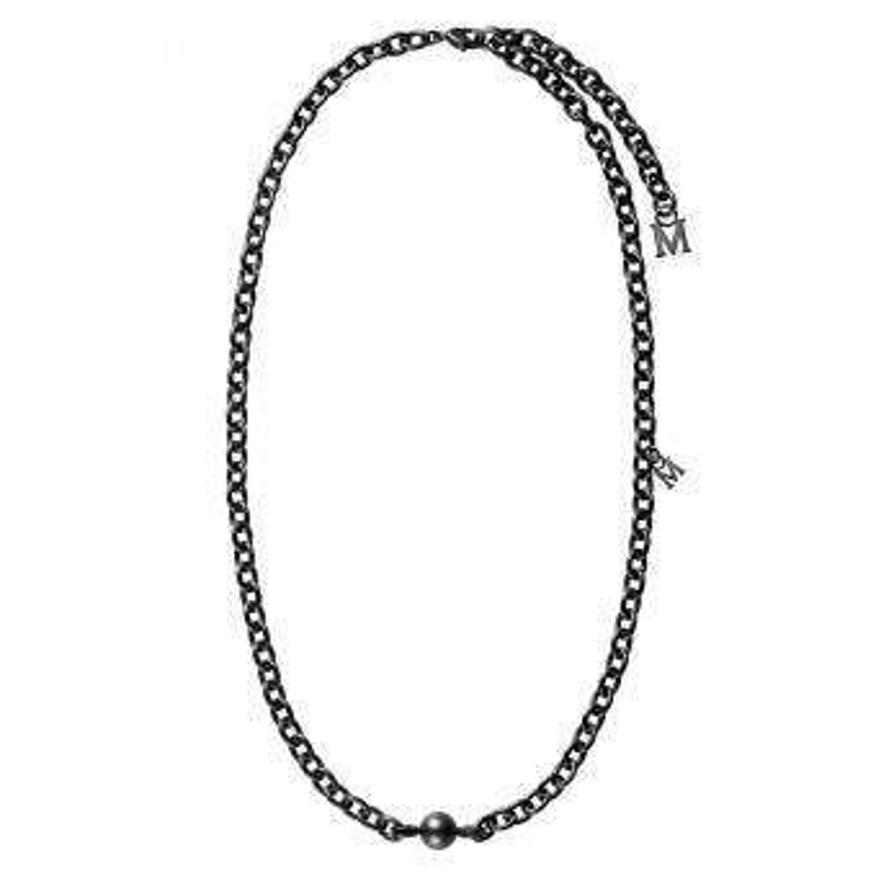 Passionoir Black South Sea Cultured Pearl Necklace