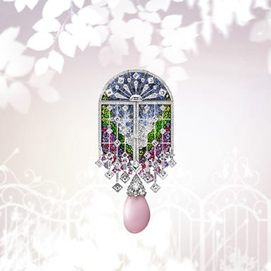 "Presenting High Jewelry Collection 2019 ""Jardin Mystérieux"""