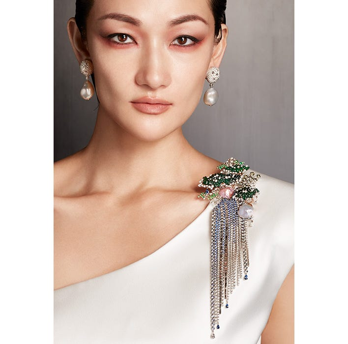 """Mikimoto Celebrates the Launch of its New High Jewelry Collection, """"The Japanese Sense of Beauty"""""""